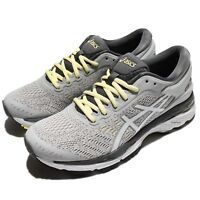 Asics Gel-Kayano 24 Glacier Grey Carbon Women Running Shoes Trainers T799N-9601