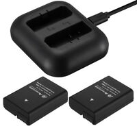 EN-EL14 Battery / Charger for Nikon D5100 D5200 D5300 D3200 D3100 Coolpix P7000