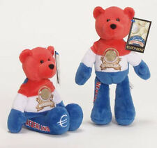 Netherland Euro Coin Bear Retired Plush Collectible Bear Limited Treasures
