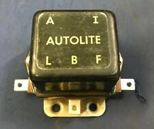 Vintage Dual Polarity Generator Voltage Regulator Autolite VBS6201C