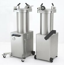 Talsa F25S/48 All Stainless Hydraulic 48 LB Sausage Stuffer - 1 Phase 110 Volt