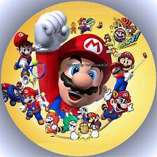Esspapier Tortenaufleger Tortenbild Geburtstag Super Mario T3  ( w )
