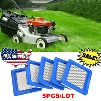 5Pcs Air Filter Lawn Mower Filters for Briggs & Stratton 491588 491588S 399959