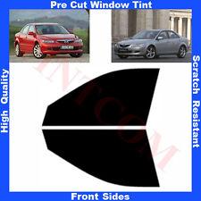 Pre Cut Window Tint Mazda 6  4 Doors Saloon 2002-2008 Front Sides Any Shade