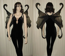 FAIRY WINGS ONLY Tinkerbell Gothic Fire Fairy Adult SZ Halloween Costume LOTR
