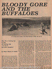 Bloodiest Buffalo Hunt+Big Plume,Boswick,Bridges,Chantillon,Chouteau,Gore.Dixon