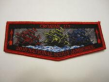 OA (BSA) Croatan Lodge #117 - 2010 National Jamboree Flap