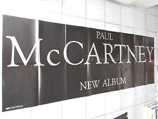 PAUL MC CARTNEY 1988 Orig. Concert-Concert-Poster 236 x 84 cm Very Big.