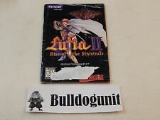 Lufia II: Rise of the Sinistrals Snes Manual Only No Game Super Nintendo