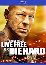 Die Hard 4: Live Free or Die Hard (Blu-ray Disc, 2009) Brand New