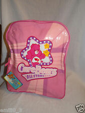 "New With Tag Care Bears 2004 All-Stars Backpack 11'X13"" Pink"