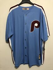NWT Mens Bryce Harper Majestic Cooperstown Collection Jersey Cool Base 3XL