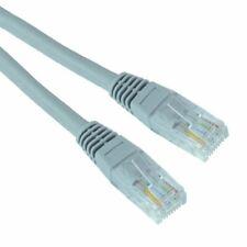 Grey 25m RJ45 Cat5e Ethernet Network LAN Patch Cable Lead