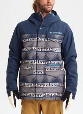 Brand New Mens 2020 Burton Covert Snowboard Jacket Spurwink Dress Blue