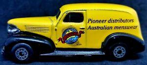 Matchbox 1992 Australian Collectors Model Limited Edition1939 Chevy Sedan