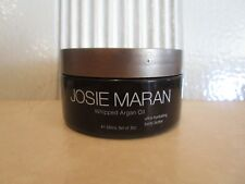 JOSIE MARAN WHIPPED ARGAN OIL BODY BUTTER LT BRONZE VANILLA PEACH 8 OZ SCRATCH