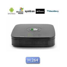 DVR Videosorveglianza 4 canali H.264 videoregistratore usb HD non incluso apple