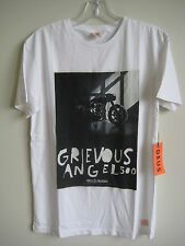 ($48) NWT DEUS EX MACHINA TEE SIZE LARGE WHITE GREVIOUS NR2 MOTOR BIKE T-SHIRT