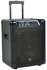 ZZIPP ZZMPA8 Diffusore Amplificato Cassa attiva portatile a Trolley 90W MP3 USB