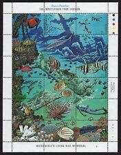 MICRONESIA, SCOTT # 71, DIVER'S PARADISE, FISH, CORAL, OCEAN & MARINE LIFE SHEET