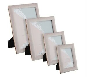 """Pink Miami Faux Suede Photo Frame Picture Frame 5"""" x 7"""" -  8"""" x 10"""" Gift Xmas"""