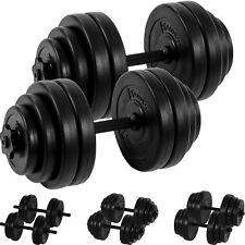 MOVIT 2x 15kg Hanteln 30 kg Hantelset Hantel Kurzhantel Kurzhanteln Gewichte Set