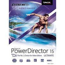 CyberLink PowerDirector 15 Ultimate - Creative Movie Making PC