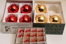 18 glaskugeln Amarillo Rojo Bolas para árbol de Navidad Decoración