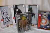 Star Wars Talking Action Figure Yoda Darth Vador BB-8 Boba Fett Stormtrooper