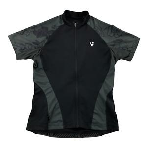 Bontrager Women's SS Cycling Jersey Medium Polyester Short-Sleeve Full Zip