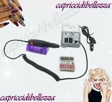 Fresa professionale unghie elettrica manicure pedicure 14.000 giri - Nail Art