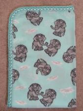 Crib/Nap/ Fleece Blanket/Handmade - Elephant Pairs In The Clouds
