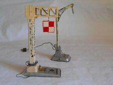 JEP French O gauge electrically operated signal and yard lamp