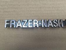 Classic Frazer-Nash BMW Badge Logo Decalcomania Emblema cromato su CAST Autentico rivenditore X
