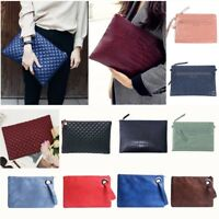 Women's Large Envelope Clutch Purse Wallet Bag Tote Handbag Party Evening Bag