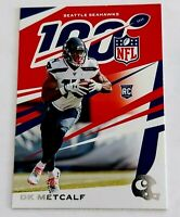 DK Metcalf 2019 Panini Chronicles RC Rookie 100 Seattle Seahawks #98