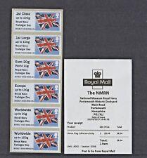 Nmrn Royal Navy Trafalgar Day Flag Collector Strip Bogb17 A002 Post Go