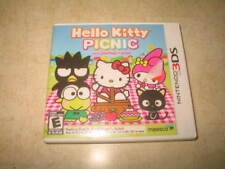 Hello Kitty Picnic With Sanrio Friends (3DS, 2012) - Complete - Tested **READ**