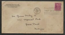 US;1938; FDC ; JAMES MADISON, 4 c, red-brown; Scott # 808