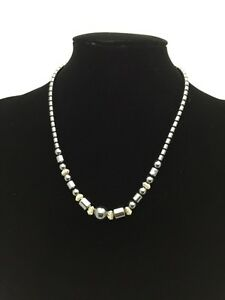 """Chain Unique Lady's 18"""" Heavy Black coloured link Chain Necklace Jewelry Cheap 3"""