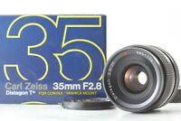 【 MINT in BOX 】 CONTAX Carl Zeiss Distagon C/Y 35mm F2.8 T* Lens MMJ Japan Y328