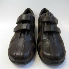 Aetrex Mary Double Strap E831W Ladies Leather Shoes with 2 Side Straps UK7 Lot C