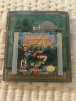 Tomb Raider Starring Lara Croft Nintendo GameBoy Color CLEANED TESTED PLAYS SAVE