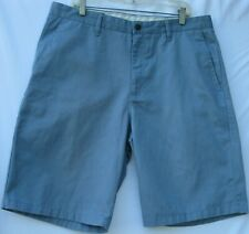Volcom 5 pocket flat front poly/cotton frickin solid chino shorts men's size 36