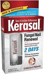 Kerasal Fungal Nail Renewal Restores Appearance of Discolored/Damaged Nails