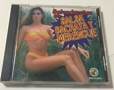 Salvadorenos En Salsa Bachata Y Merengue Various Artists Music Cd. Rare