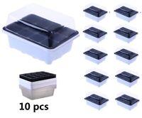 Oak Leaf Seed Starter Tray 12 Cells Seedling Starter Trays Kit Greenhouse Supply