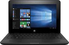"HP X360 11-ab011dx 11.6"" Touchscreen 2in1 Laptop (N3060 4GB 32GB Win10 Black)"