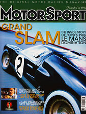 Motor Sport Aug 2006 - Ford GT40 Le Mans 1966, Corvette Z-06, Panoz GTR-1, McRae