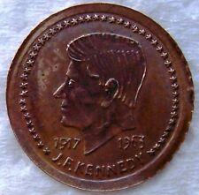 JOHN F KENNEDY 1917 -  1963 Gold Coin RARE EXTRA FINE TOKEN